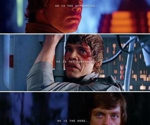 LUke, the last jedi, and Skywalker image