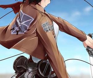 anime, girl, and aot image