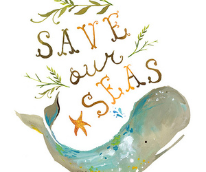 sea, whale, and save image