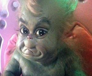 christmas, grinch, and baby image