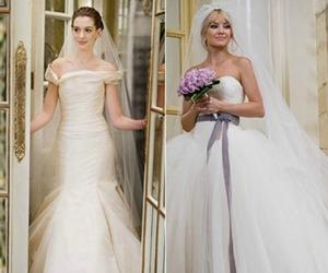 dress, Bride Wars, and kate hudson image