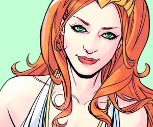 dc comics, bombshells, and queen of atlantis image
