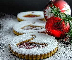 christmas, biscuit, and Cookies image