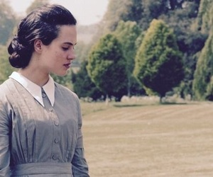 sybil, downton abbey, and jessica brown findlay image