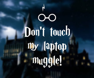 harry potter and laptop image