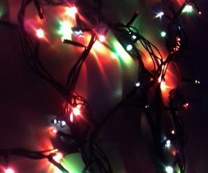 christmas, christmas lights, and lights image