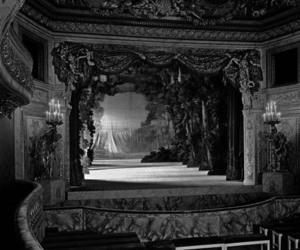 theater, dark, and theatre image