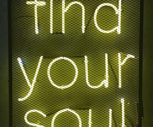 light, yellow, and find your soul image