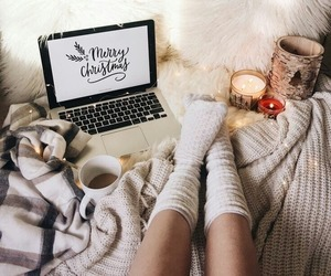 christmas, moment, and cozy image