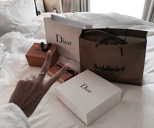 fashion, luxury, and dior image