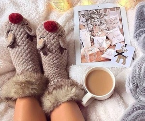 cafe, chill, and christmas image