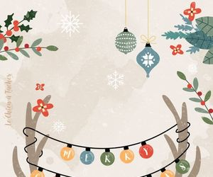background, christmas, and deco image