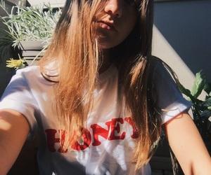 artsy, blonde, and brunette image