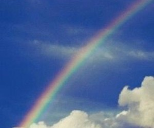 rainbow and sky image
