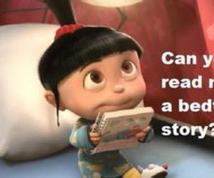 agnes, despicable me, and cute image