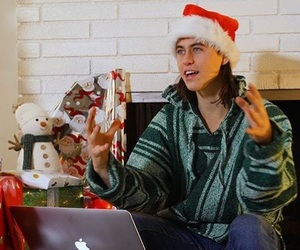 boy, christmas, and nash grier image