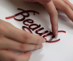beauty, text, and typography image