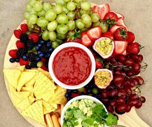 FRUiTS, grapes, and strawberries image