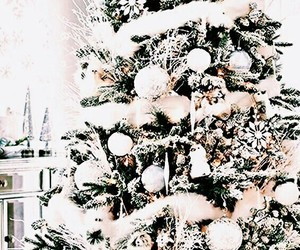 white, winter, and christmas+ image