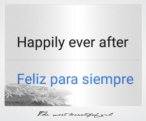 happily ever after and felices para siempre image
