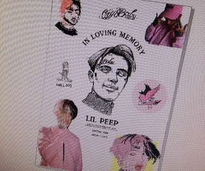 lover, rip, and lil peep image