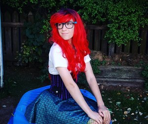 arial, cosplay, and littlemermaid image