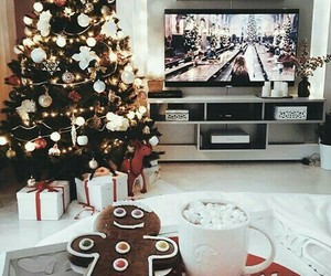 lights, christmas, and movies image