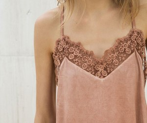 lace, outfit, and top image