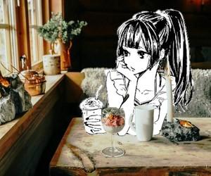 anime, coffee maker, and edit image