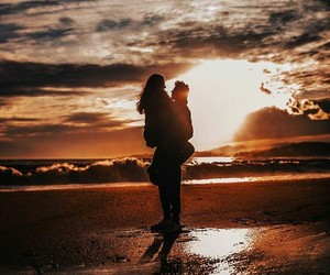 beach, me and you, and memories image