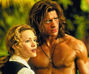 Brendan Fraser, disney, and george of the jungle image