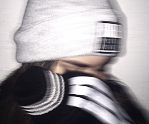 adidas, beanie, and blur image