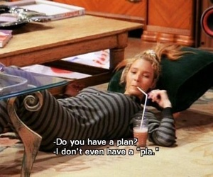 friends, phoebe, and funny image