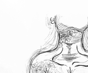 art, body, and doodle image