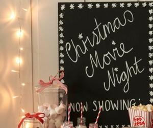 christmas, nights, and decoration image