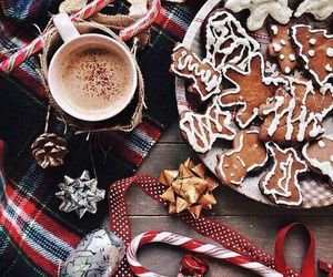 candy cane, christmas, and Cookies image