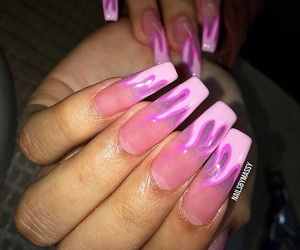 flames, nails, and cute image