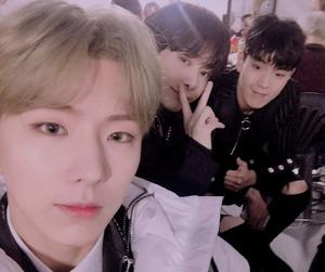 kihyun, hyungwon, and shownu image