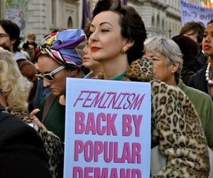 feminism, woman, and feminist image