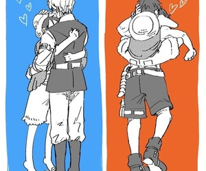 anime, portgas d ace, and asl image