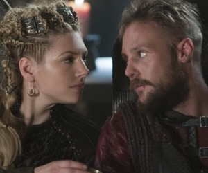vikings, lagertha, and ubbe image