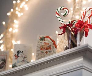 christmas, lights, and santa image