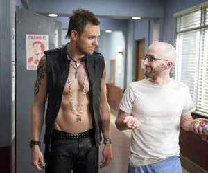 community, shirtless, and joel mchale image