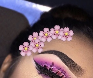 beauty, glow, and pink image