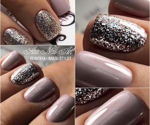 nails, manicure, and by kristina bro image