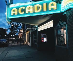 cinema, night, and turquoise image