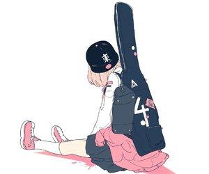 anime, art, and cute image
