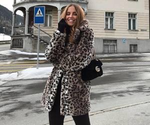 coat, streetstyle, and fashion image