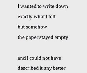 quotes, empty, and depressed image