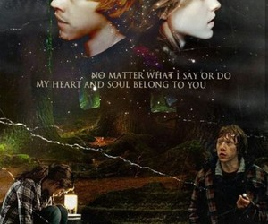 hermione and ron image